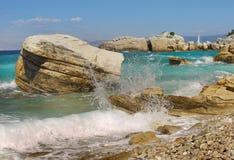 Grekisk ökust Arkivbild
