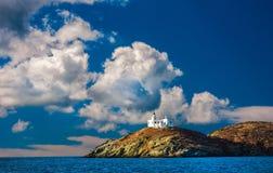 grekisk ö Fotografering för Bildbyråer