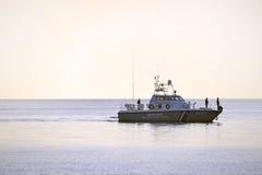 Grekisk coastguard arkivfoto