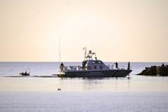 Grekisk coastguard fotografering för bildbyråer