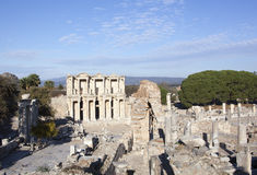 Grekisk forntida stad Fotografering för Bildbyråer