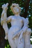 Grekisk gudinnastaty Royaltyfri Bild