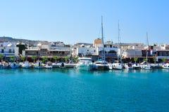 grekisk hamn Arkivfoto
