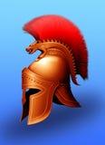grekisk hjälm Arkivbild