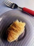 Grekisk kokkonst - Baklava Arkivbilder