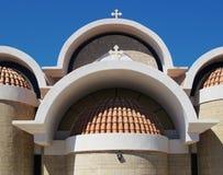 Grekisk kyrka Royaltyfri Fotografi