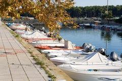 grekisk lagos porto by Arkivfoton