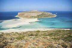 grekisk lagun Royaltyfria Bilder