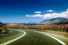 Grekisk landschaft Fotografering för Bildbyråer