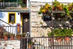 Grekisk lantlig husvägg för påsk, Grekland Royaltyfria Bilder