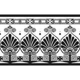 grekisk modell royaltyfri illustrationer