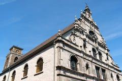 Grekisk ortodox kyrka i Aachen, Tyskland Arkivbilder