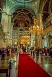 Grekisk ortodox kyrka, Istanbul Royaltyfri Foto