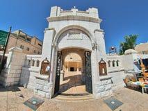 Grekisk ortodoxkyrka av annunciationen, Nazareth Royaltyfri Fotografi