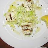 Grekisk ost och sallad fotografering för bildbyråer