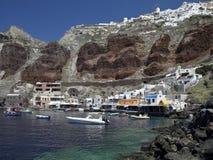 grekisk ösantorini Arkivfoton