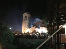 Grekisk påsk för öEvia ortodox Royaltyfri Fotografi