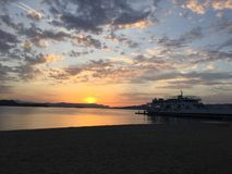 Grekisk port Royaltyfria Bilder