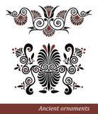 Grekisk prydnad royaltyfri illustrationer