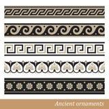 Grekisk prydnad Arkivbilder