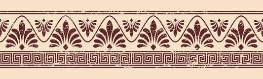 Grekisk prydnad för vektor Royaltyfri Fotografi