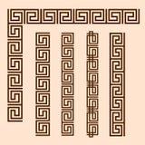Grekisk prydnad för vektor vektor illustrationer