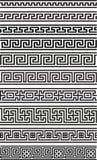 Grekisk sömlös prydnad Arkivfoto