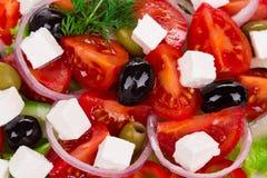 grekisk sallad Fotografering för Bildbyråer