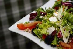 grekisk sallad arkivfoto
