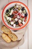 grekisk sallad Arkivbild
