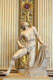 Grekisk skulptur av en man Arkivfoton