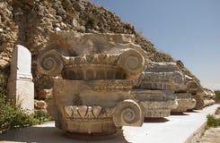 Grekisk stadsmagnesiaannons Maeandrum, Aegean region av Turkiet Royaltyfria Foton