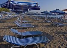 Grekisk strand Royaltyfri Foto