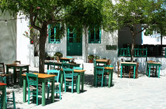 grekisk taverna Royaltyfri Bild