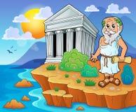 Grekisk temabild 2 Royaltyfria Bilder