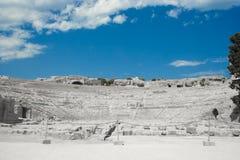 grekisk theatre Fotografering för Bildbyråer
