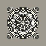 Grekisk traditionell mosaik Fotografering för Bildbyråer