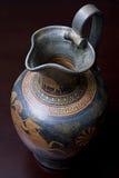 grekisk vase Arkivbilder