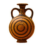 grekisk vase Royaltyfri Fotografi
