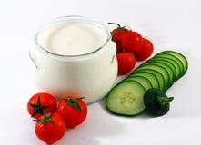 Grekisk yoghurt Royaltyfri Bild