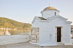 grekiska öar Arkivfoto