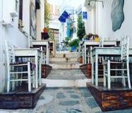 grekiska öar Fotografering för Bildbyråer