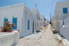 Grekiska öar, amorgos Arkivbilder