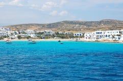 Grekiska öar, koufonissoshamn Fotografering för Bildbyråer
