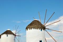 Grekiska ömykonos Arkivbilder