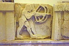Grekiska bågskyttar Arkivfoto