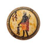 Grekiska forntida krus arkivbild