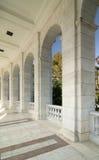 grekiska kolonner Fotografering för Bildbyråer