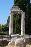 grekiska kolonner Royaltyfri Fotografi