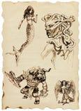 grekiska myths Royaltyfri Bild